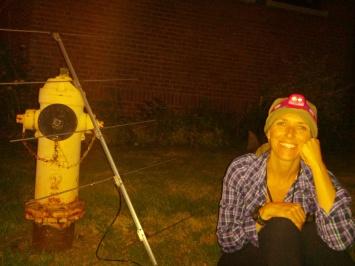 Night Track Antenna and Krista